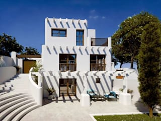 Ampliación de Villa en Los Balcones, Alicante Casas de estilo mediterráneo de Pacheco & Asociados Mediterráneo