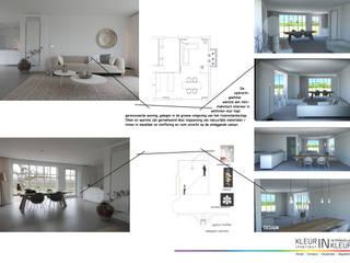 by KleurInKleur interieur & architectuur Мінімалістичний