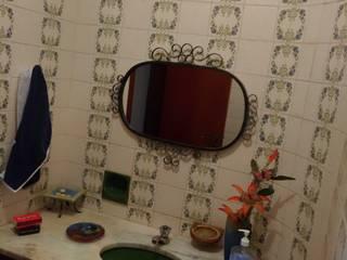 Antes e depois lavabo Letícia Saldanha Arquitetura