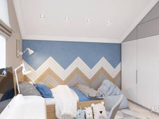 Habitaciones para niños de estilo ecléctico de Студия авторского дизайна ASHE Home Ecléctico