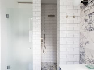 Brook Green, London Townhouse Bagno minimalista di My-Studio Ltd Minimalista