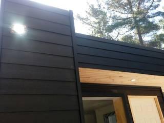 cabaña de madera: Cabañas de estilo  por Incove Ingeniería y Construcción