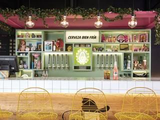 Modern bars & clubs by ESTUDIO TANGUMA Modern