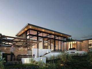 LATIFF Diseño y construcción Condominios Concreto Acabado en madera