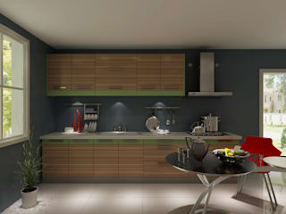 : modern  by YALIG Kitchen Cabinet, Modern