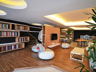 Living room by Hatch Interior Studio Sdn Bhd