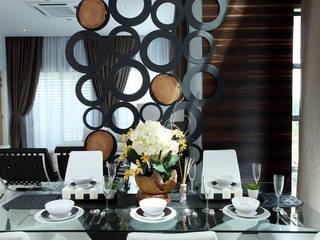 غرفة السفرة تنفيذ Hatch Interior Studio Sdn Bhd, حداثي