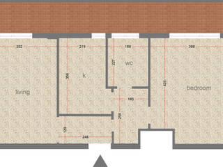 Uno spazio confortevole in meno di 60 MQ BAGUA