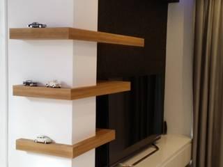 Design Hub interiors by Çise Mısırlısoy İç Mimar  – Tv Unit :  tarz