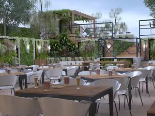 Atölye BE Mimarlık – Kadıköy Moda Restaurant:  tarz Bar & kulüpler