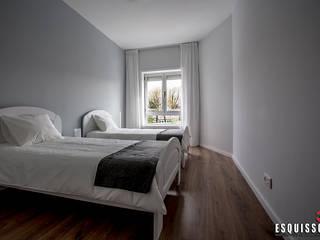 Casa Ana Pinheiro : Quartos modernos por Esquissos 3G