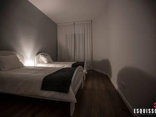 Casa Ana Pinheiro : Quartos  por Esquissos 3G,Moderno
