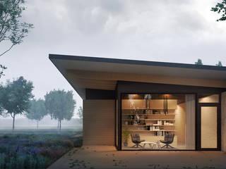 boskamer:  Villa door STAAG architecten
