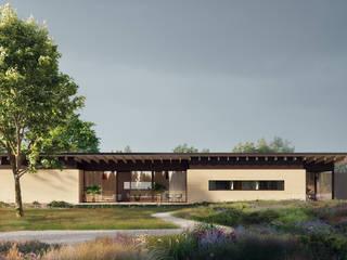 tuingevel:  Villa door STAAG architecten