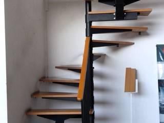Escalera recta en U modelo MILAN HELIKA Scale Escaleras Madera Multicolor