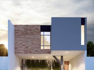 CASA BERNESE: Casas unifamiliares de estilo  por SUR arquitectura