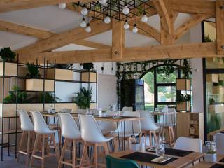 RÉNOVATION Restaurant Happy Days Gastronomie scandinave par Sb Design Concept Scandinave