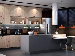 Gilberto Cardoso interiores Ruang Komersial Modern