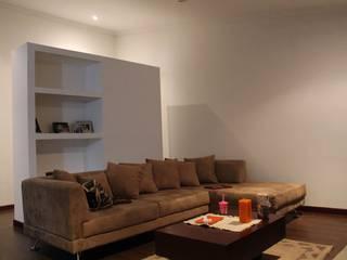 Salas de estar modernas por ATELIER HABITAR Moderno