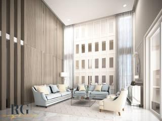 Residencia LM:  de estilo  por RG Arq & Deco