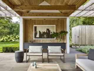 Pool Haus Moderne Pools von Ecologic City Garden - Paul Marie Creation Modern