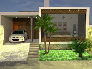Projeto MT: Casas  por Damárcio Oliveira Arquiteto