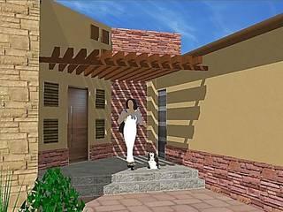Proyecto Casa Habitacion: Casas de estilo colonial por Arquitectura, Diseño y Construcción