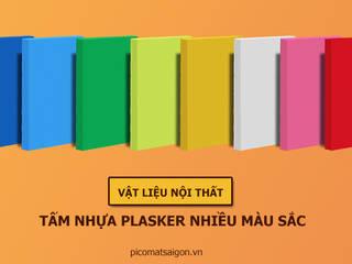 Tấm nhựa PVC Plasker nhiều màu sắc và các ứng dụng:   by Picomat Sài Gòn