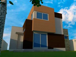 Mediterranean style house by DIMA Arquitectura y Construcción Mediterranean