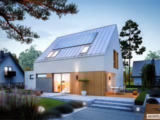 Pracownia Projektowa ARCHIPELAG Maisons minimalistes