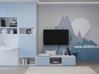 Teen bedroom by Дизайн студия 'Дизайнер интерьера № 1'