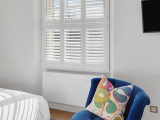 Stunning shutters to match a stunning Richmond home Plantation Shutters Ltd BedroomAccessories & decoration Kayu White