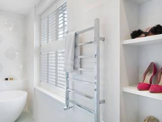 Stunning shutters to match a stunning Richmond home Plantation Shutters Ltd BathroomFittings Kayu White