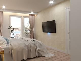 Bedroom design: modern Bedroom by Fibi Interiors