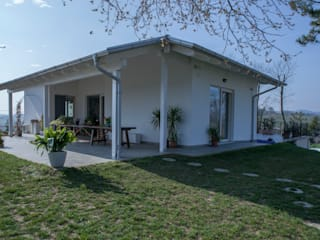 Spazio Positivo Prefabricated home Beige