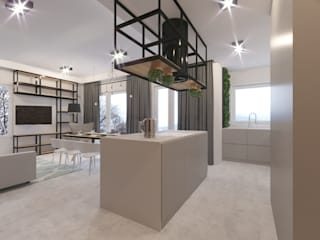 Kitchen:  Kitchen by Fibi Interiors