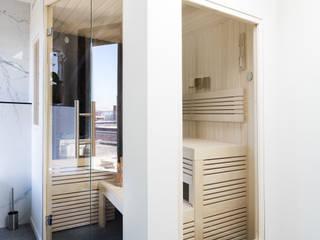 Cleopatra sauna:  Badkamer door Cleopatra BV