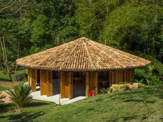 Reserva Florestal e Fazenda Bananal - Paraty - RJ Locais de eventos tropicais por Flavia Machado Arquitetura Tropical