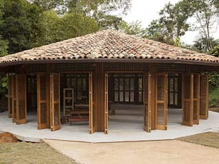 Reserva Florestal e Fazenda Bananal - Paraty - RJ Centros de congressos tropicais por Flavia Machado Arquitetura Tropical