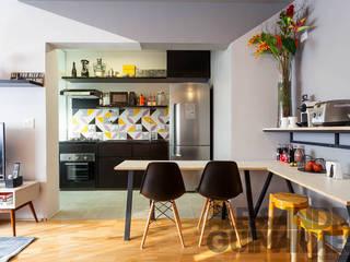 Apartamento Brooklin - São Paulo por Flavia Machado Arquitetura Moderno
