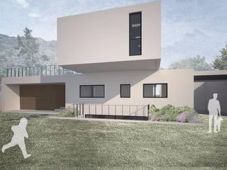 Casa Chamisero: Casas prefabricadas de estilo  por BMAA