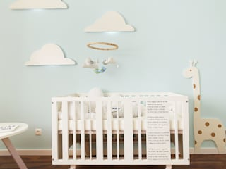 Scandinavian style nursery/kids room by Homestories Scandinavian