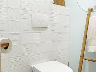 Scandinavian style bathroom by Homestories Scandinavian