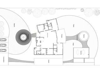 Diseño de Exteriores en Santo Domingo por ARquitectura: Jardines zen de estilo  por ARquitectura