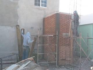 CONSTRUCCION CASA HABITACION Dormitorios modernos de DALSE Construccion & Remodelación Moderno