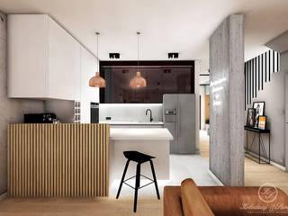 CARAMEL: styl , w kategorii Kuchnia zaprojektowany przez Kołodziej & Szmyt Projektowanie wnętrz