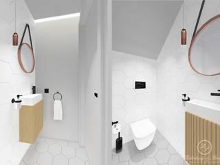 CARAMEL: styl , w kategorii Łazienka zaprojektowany przez Kołodziej & Szmyt Projektowanie wnętrz