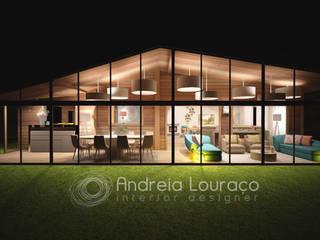 Moderner Wintergarten von Andreia Louraço - Designer de Interiores (Contacto: atelier.andreialouraco@gmail.com) Modern