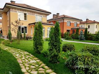 Ландшафтный дизайн садового участка:  в . Автор – Цветущий сад