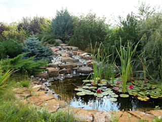 Ландшафтный дизайн дачного участка (Калужское направление):  в . Автор – Цветущий сад